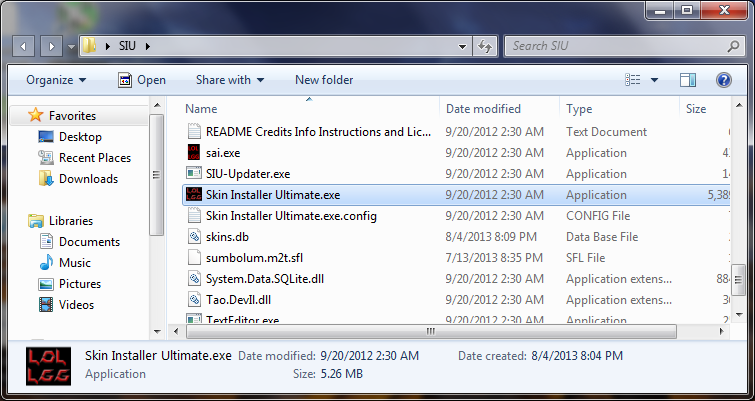 This is a screenshot of the folder in which has been extracted the contents of the downloaded *.zip file