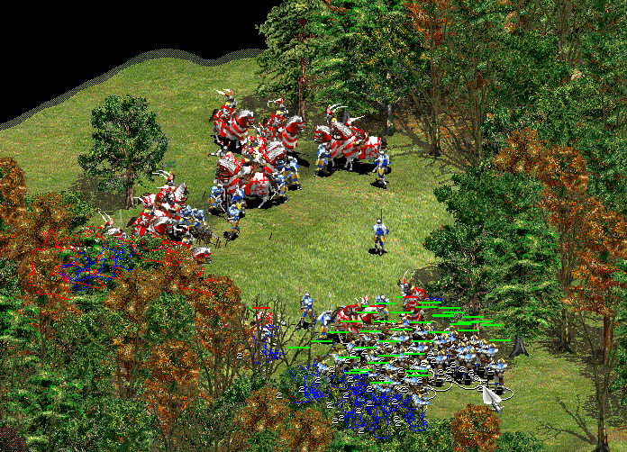Age of Empires - Using the terrain